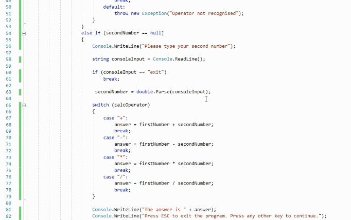 Learning .NET Core from scratch