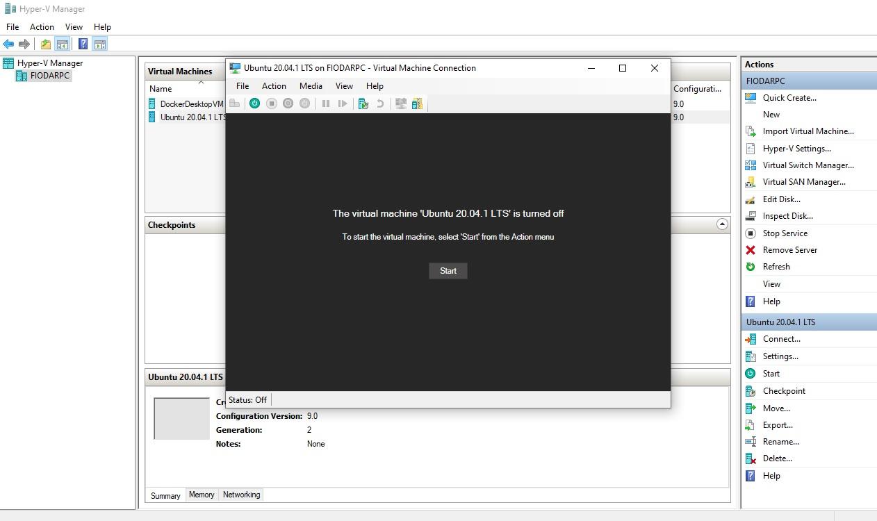 Getting audio working on Ubuntu VM on Hyper-V